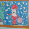 """Cuộc thi """"Bé vẽ tranh tặng ông già Noel"""""""